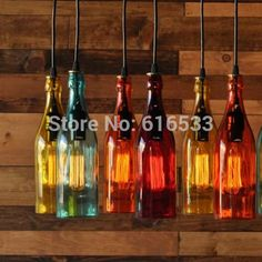 Find More Pendant Lights Information about Vintage Loft Industrial American Lustre Glass Winebottle Edison Pendant Lamp Dinning Living Room Modern Home Decor Lighting,High Quality light wind,China decorative outdoor flood lights Suppliers, Cheap decorative light chain from YH Lighting Store on Aliexpress.com