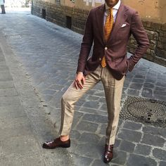 Outfit from day one of #pittiuomo I've met some incredible people here and love being in the epicenter of menswear.