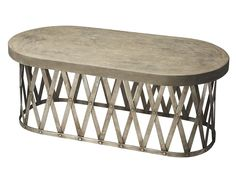 Concrete Cocktail Table for $409.99