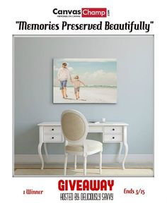 Non candy easter gift giveaway ends 303 2018 giveaways on the canvaschamp memories preserved beautifully giveaway negle Gallery