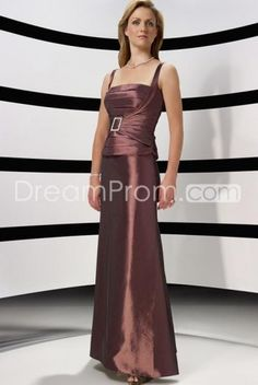 Cheap Cheap Concise Sheath Square Neckline Floor-Length Mother of the Bride Dresses