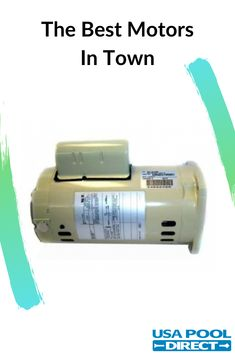 The swimming pool pump motor is the equipment that keeps your pool useable. It is hands-down the most important piece of a swimming pool. Pool Equipment, New Technology, Swimming Pools, Advice, Good Things, Usa, Learning, Check, Blog