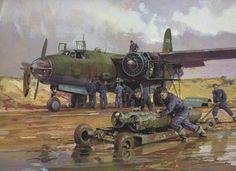 Martin B-26 Marauder - Artist Michael Turner