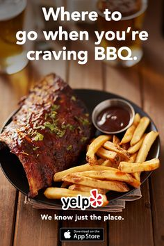 Satisfy your craving for ribs, brisket, burgers and more when you install Yelp. Read millions of reviews from the Yelp community and find the newest and hottest restaurants in your area. Whatever you?re in the mood for, Yelp is your guide to finding the perfect spot.