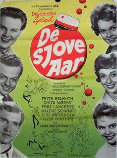 De sjove år (1959) om livet på et kollegium.