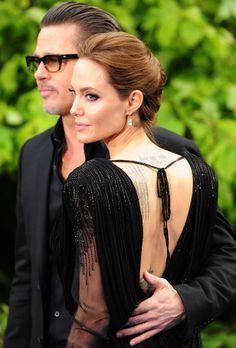 Brad Pitt e Angelina Jolie (Foto: Getty Images)