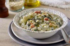 Zuppa+di+orzo+con+speck+e+bietole,+ricetta+confortevole