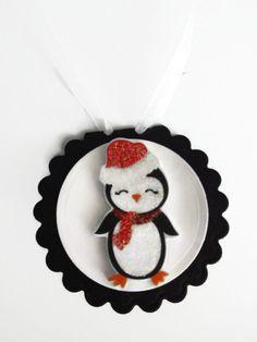 Penguin Christmas Tags Christmas Favor Tags Gift Tags