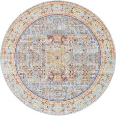 Found it at Wayfair - Rune Light Blue Area Rug