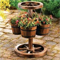 rustic-garden-3 - Find Fun Art Projects to Do at Home and Arts and Crafts Ideas