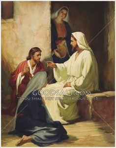 jesus martha and mary - Google Search
