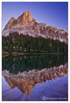 El Capitan & Alice Lake, Idaho, USA