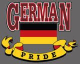 German Pride - My Dad was very proud of his German heritage, even tho he honestly didn't know much about where his grandfather came from, he often told stories of how it was when his grandfather came over, and  the early years on Cedar Street in Stamford CT.