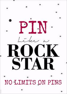 That's right, friends! No more limits on pins on any of my boards! Pin away and have fun! As You Like, Just For You, Let It Be, My Love, Guns N Roses, My Pinterest, Stress Free, Inspire Me, My Music