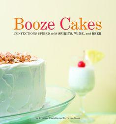 Fuzzy navel cupcake recipe from Booze Cakes