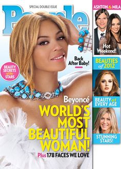 Beyoncé has just been chosen by People as the World's Most Beautiful Woman! --- gorgeous
