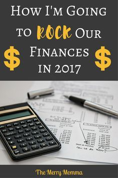 "My area of focus for April in my ""Year of Mini-Goals"" is our finances. Find out how I plan to unite with my husband to rock our finances in 2017!"