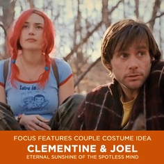 Clementine and Joel Costumes from Eternal Sunshine of the Spotless Mind