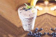 Blueberry smoothie - Healthy Living Made Simple