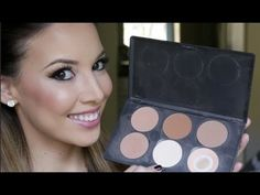 Great step by step tutorial on how to contour with powder! Easy day to day routine.