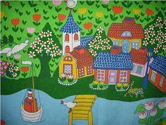 Barntyg från 70-talet. Design: Ann-Marie Netterdag! RETRO!