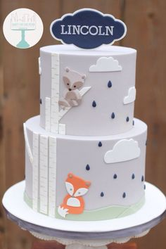 Fox Cake on Pinterest