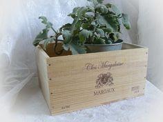 Kisten & Boxen - Weinkiste 'Margeaux' Vintage - ein Designerstück von Dragonflys-Home bei DaWanda
