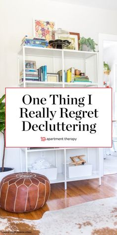 I was in get-rid-of-everything mode that day I decluttered the garage. But here's the thing: I regret it. #decluttering #declutteringtips #cleaningtips #lifehacks #organization