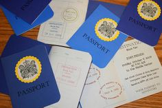classroom passports - would be great to use as a log to remember different places visited through history/geography