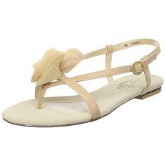 Jen + Kim for Coloriffics Women's Honey Flat Sandal