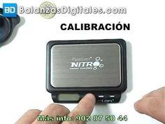 Balanza Digital Fuzion Nitro - Manual de uso y calibración -