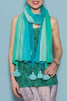 big ombre scarf