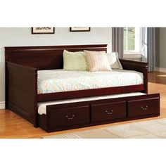 Furniture Of America Daybed With Trundle Sahara