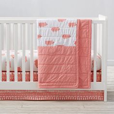 Wild Excursion Pig Crib Bedding and Quilt  | The Land of Nod