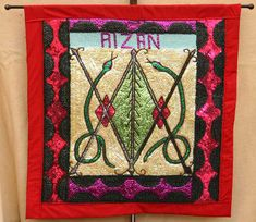 Ayizan, loa of the marketplace, flag Erzulie Freda, Haitian Art, Dark Photography, Shibori, Folk Art, Bohemian Rug, Altars, Quilts, Banners