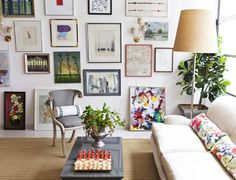 Katie Gavigan Interiors: gallery walls