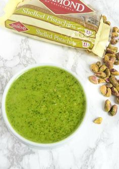 Adding delicious flavor to any dish, this Lemony Pistachio Basil Pesto serves as a versatile and mouthwatering recipe that's perfect for any occasion.