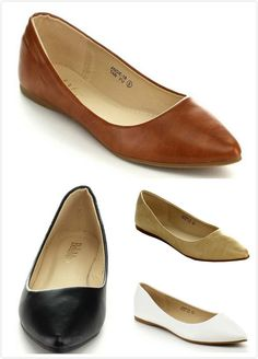 Shoes For Women Pump Simple Frosted Flat Heel Comfort Pointed Toe Flats Casual