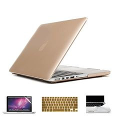 GMYLE Champagne Gold Keyboard Cover for Macbook Air Pro 13 15 15 Pro Retina 17 US model