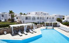 Minois Village Boutique Suites & Spa a seaside, luxury hotel in Paros , featuring a pool and spa within elegant surroundings that exude true island vibes Hotel Suites, Hotel Spa, Places To Travel, Places To Go, Paros Greece, Paros Island, Village Hotel, Wellness Resort