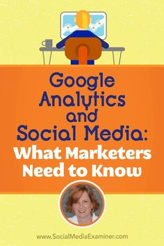 Google Analytics and Social Media: What Marketers Need to Know featuring insights from Annie Cushing on the Social Media Marketing Podcast.