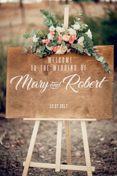 Personalised Wedding Signs and Wedding Welcome Sign Wooden Wedding Signs, Diy Wood Signs, Wedding Welcome Signs, Rustic Wood Signs, Wedding Signage, Love Wood Sign, Unplugged Wedding, Fairytale Weddings, Rustic Weddings