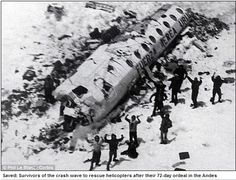 Forty year on from the plane crash that changed his life forever, Dr Roberto Canessa still vividly remembers having to eat the flesh of friends to survive. He was one of 16 men who escaped death when their chartered aircraft smashed into the bleak Andes mountains between Chile and Argentina on October 13, 1972.