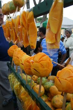 Mango Street...mangos ricos mexicanos! MMMM My favorite I always got one when we use to go to Chapultepec <3