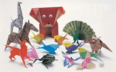Animales origami