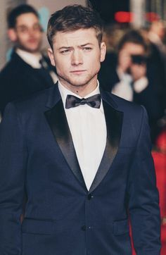 Seriously in love with this guy. Taron wears the best suits