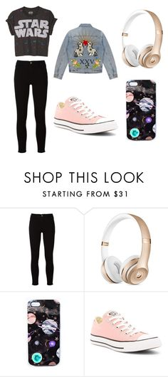 """""""hh"""" by inae-leigh on Polyvore featuring moda, Frame, Nikki Strange, Converse e Gucci"""