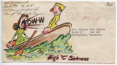 Little Hokum Rag: WWII Envelope Art