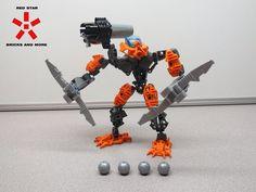 LEGO Bionicle Phantoka Toa Pohatu 8687 (Used/Complete) Retired Set