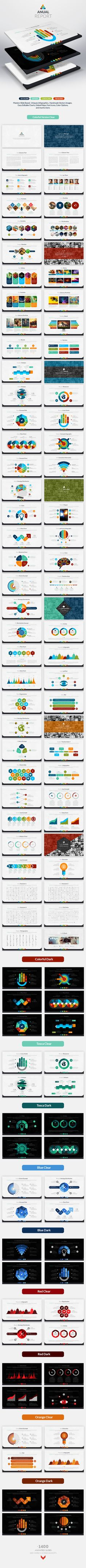 Anual Report | Keynote Presentation Template | #keynote | Buy and Download…